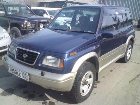 Suzuki Escudo 1995 - отзыв владельца