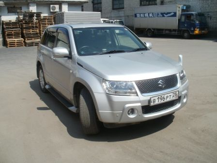 Suzuki Escudo 2006 - отзыв владельца
