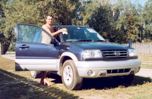 Suzuki Escudo 2001 - отзыв владельца