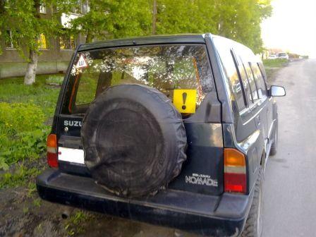 Suzuki Escudo 1992 - отзыв владельца