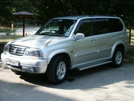 Suzuki Grand Escudo 2001 - отзыв владельца