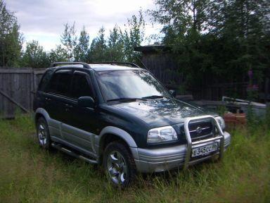 Suzuki Grand Vitara 2000 отзыв автора | Дата публикации 24.07.2009.