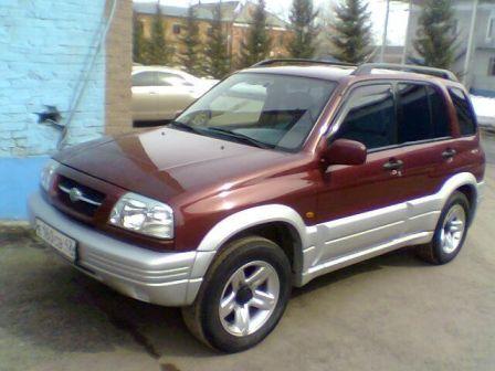 Suzuki Grand Vitara 1998 - отзыв владельца