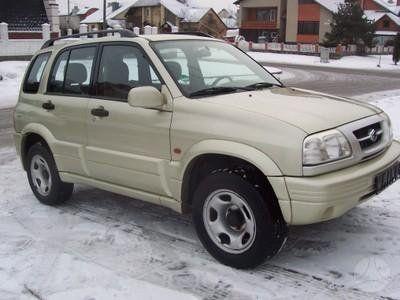 Suzuki Grand Vitara 2000 - отзыв владельца