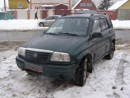 Suzuki Grand Vitara 2002 - отзыв владельца
