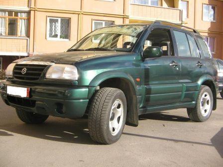 Suzuki Grand Vitara 2001 - отзыв владельца