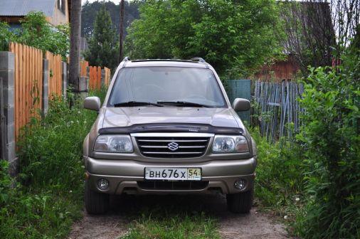 Suzuki Grand Vitara XL-7 2001 - отзыв владельца