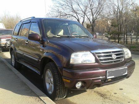 Suzuki Grand Vitara XL-7 2002 - отзыв владельца