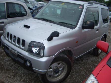 Suzuki Jimny 2002 - отзыв владельца
