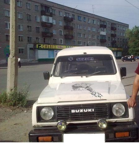 Suzuki Jimny 1989 - отзыв владельца