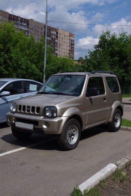 Suzuki Jimny 2005 - отзыв владельца