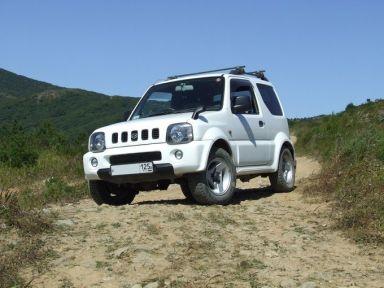 Suzuki Jimny Wide 1999 отзыв автора | Дата публикации 02.10.2009.