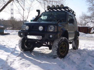 Suzuki Jimny Wide 1998 отзыв автора | Дата публикации 17.02.2013.