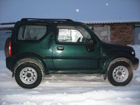 Suzuki Jimny Wide 2005 - отзыв владельца