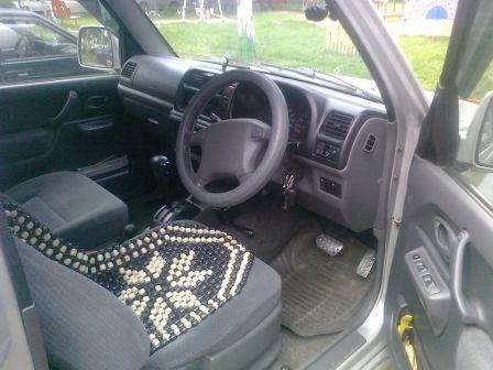 Suzuki Jimny Wide 2001 - отзыв владельца