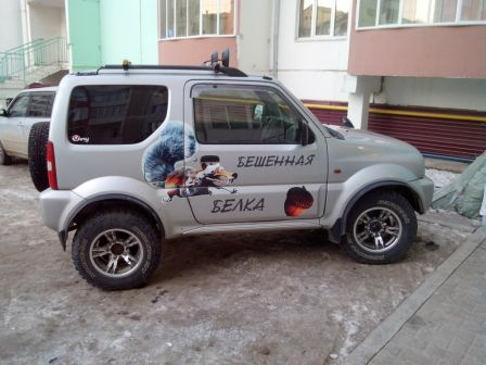 Suzuki Jimny Wide 1999 - отзыв владельца