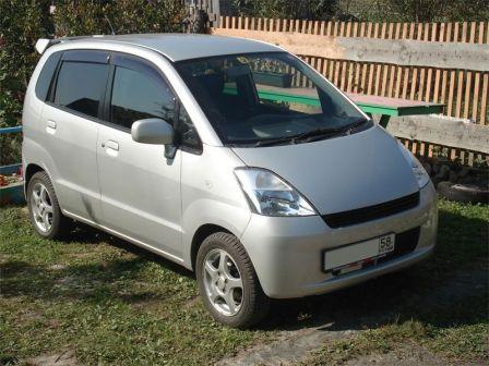 Suzuki MR Wagon 2002 - отзыв владельца
