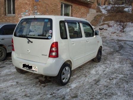 Suzuki Solio 2006 - отзыв владельца