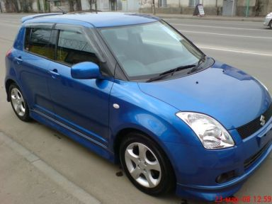 Suzuki Swift 2004 отзыв автора | Дата публикации 01.09.2008.