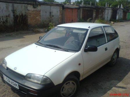 Suzuki Swift 1992 - отзыв владельца
