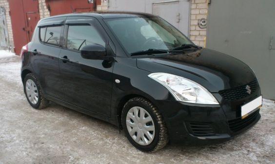 Suzuki Swift 2011 - отзыв владельца
