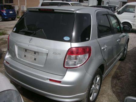 Suzuki SX4 2007 - отзыв владельца