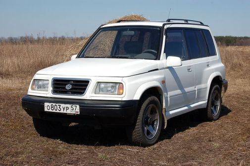 Suzuki Vitara 1998 - отзыв владельца