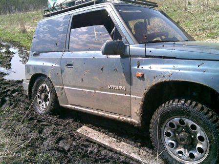Suzuki Vitara 1988 - отзыв владельца