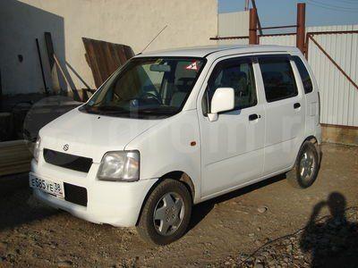 Suzuki Wagon R 2000 - отзыв владельца
