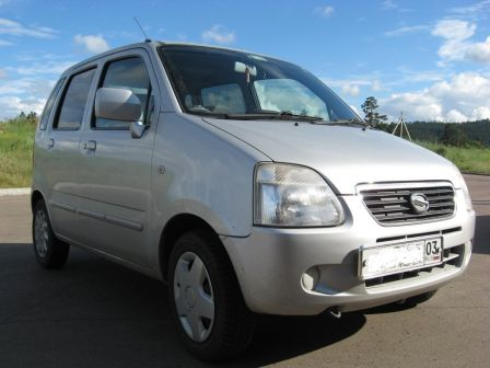 Suzuki Wagon R Solio 2002 - отзыв владельца