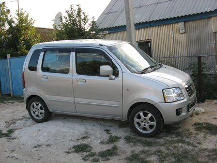 Suzuki Wagon R Solio 2003 - отзыв владельца