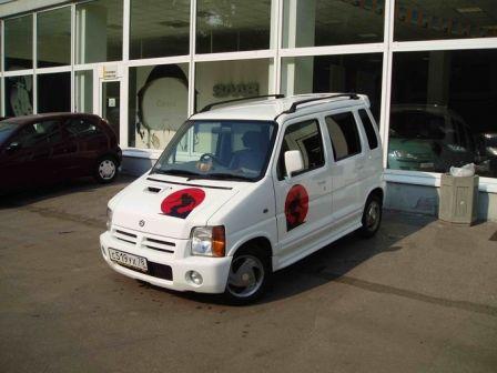 Suzuki Wagon R Wide 1999 - отзыв владельца