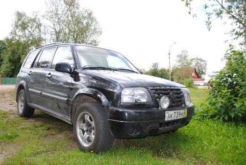 Suzuki XL7 2000 - отзыв владельца