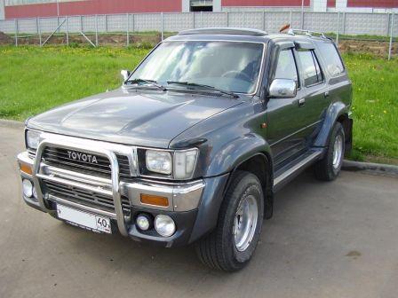 Toyota 4Runner 1990 - отзыв владельца