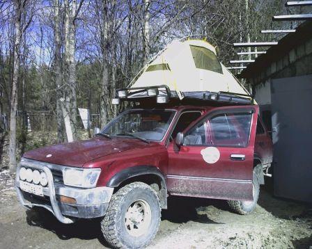 Toyota 4Runner 1992 - отзыв владельца