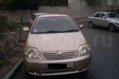 Toyota Allex, 2001