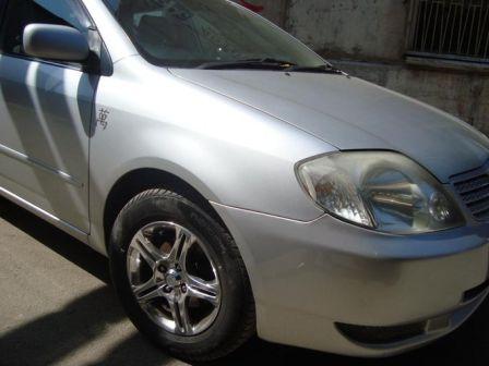 Toyota Allex 2001 - отзыв владельца