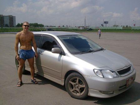 Toyota Allex 2002 - отзыв владельца