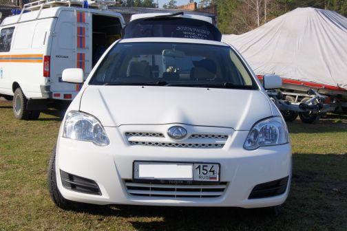 Toyota Allex 2005 - отзыв владельца