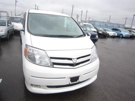 Toyota Alphard 2008 - отзыв владельца