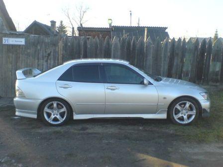 Toyota Altezza 1998 - отзыв владельца