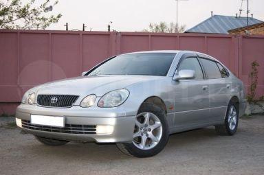 Toyota Aristo 2001 отзыв автора | Дата публикации 17.06.2011.