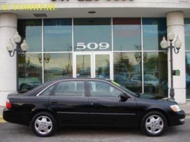 Toyota Avalon, 2002