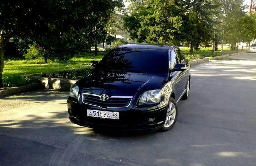 Toyota Avensis 2006 - отзыв владельца
