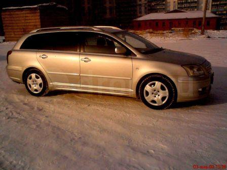 Toyota Avensis 2004 - отзыв владельца