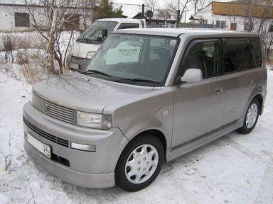 Toyota bB 2001 отзыв автора | Дата публикации 09.01.2008.