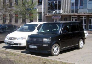 Toyota bB 2001 отзыв автора | Дата публикации 11.05.2008.