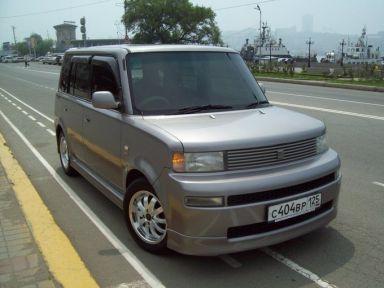 Toyota bB 2003 отзыв автора | Дата публикации 03.07.2009.