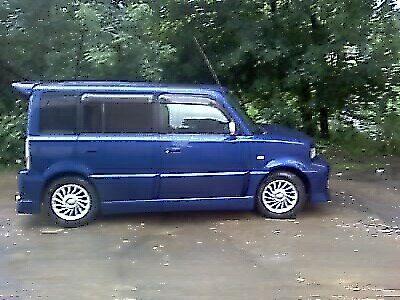 Toyota bB 2001 - отзыв владельца