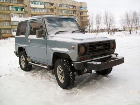 Toyota Blizzard 1986 - отзыв владельца
